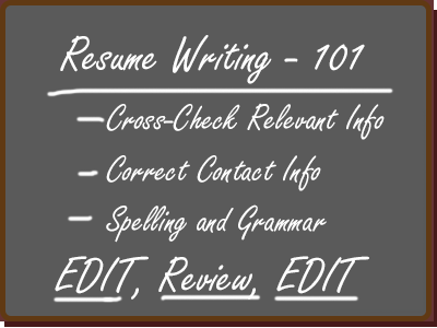 Resume Writing Fundamentals Walrath Recruiting Inc