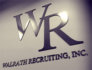 Walrath Recruiting, Inc. - Wall Logo