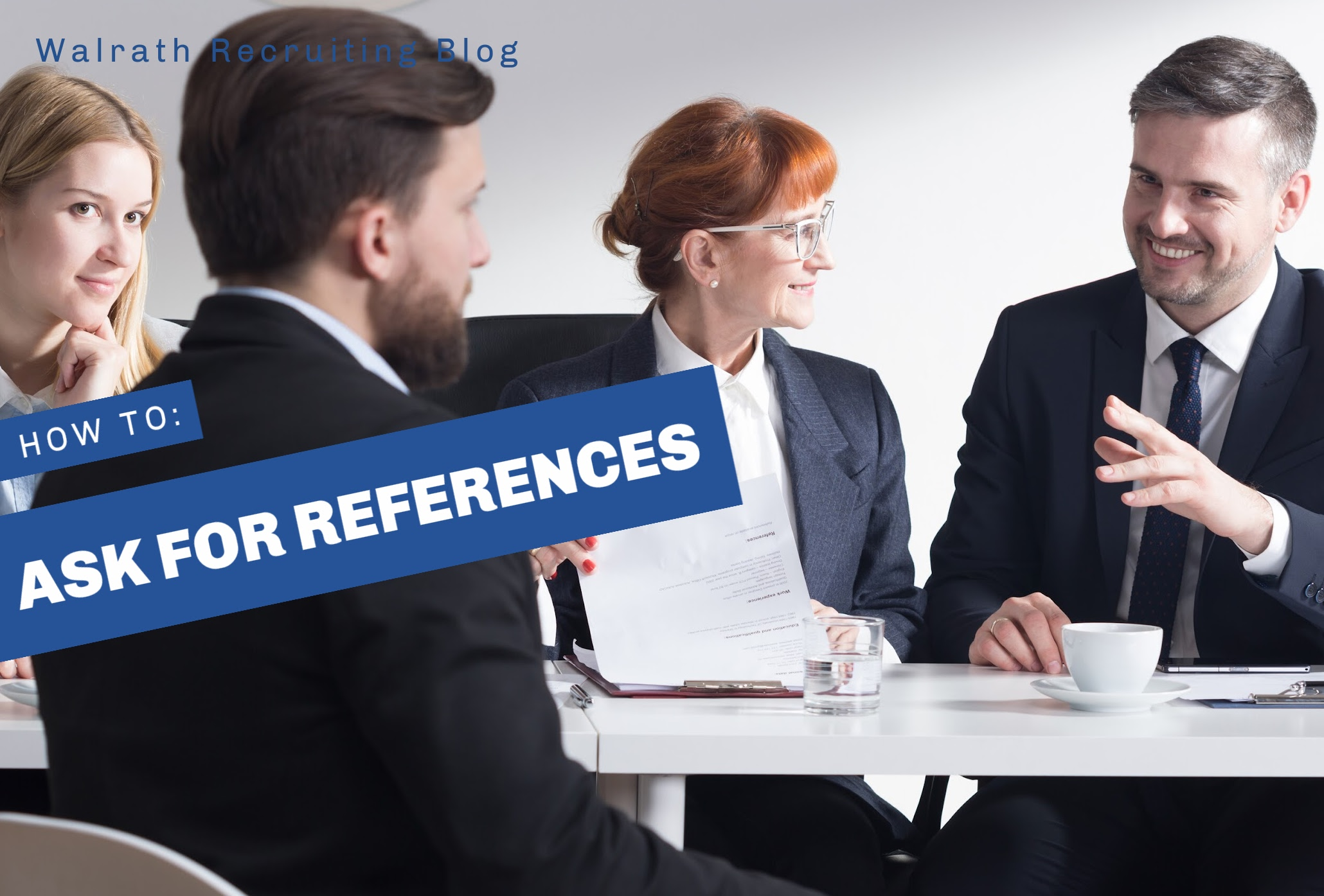 References are a key factor when job hunting. Find out how, and who, to ask for references.