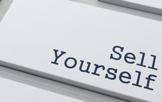 marketing yourself is key to landing a job!