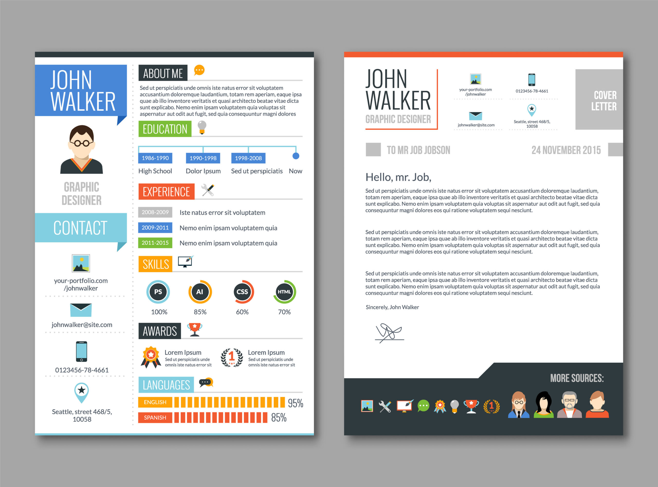 Visual Aids and hyperlinks are great resume supplements and a great way to stand out from the crowd!