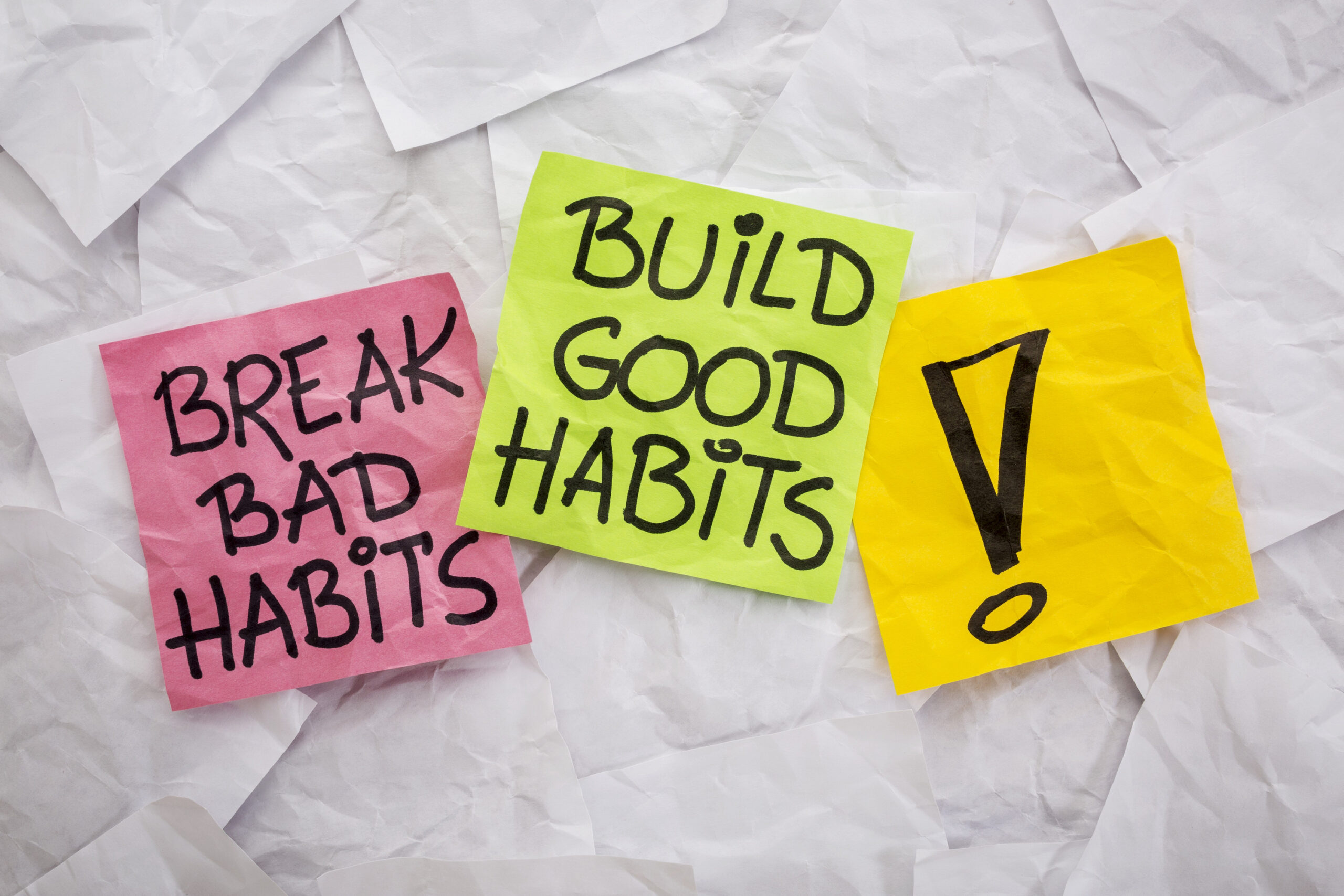 Ditch these poor work habits ASAP!