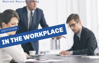 Find out how to give, and handle, criticism in the workplace