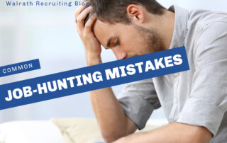 Learn the most common job-hunting mistakes and how to avoid them!