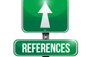 When do employers use references?