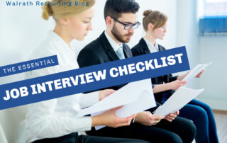 Check out the most important things to do before any job interview