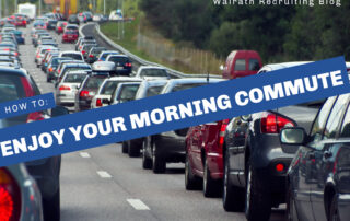 Work Commutes are tough. Check out these simpleways to make your morning commute more enjoyable!