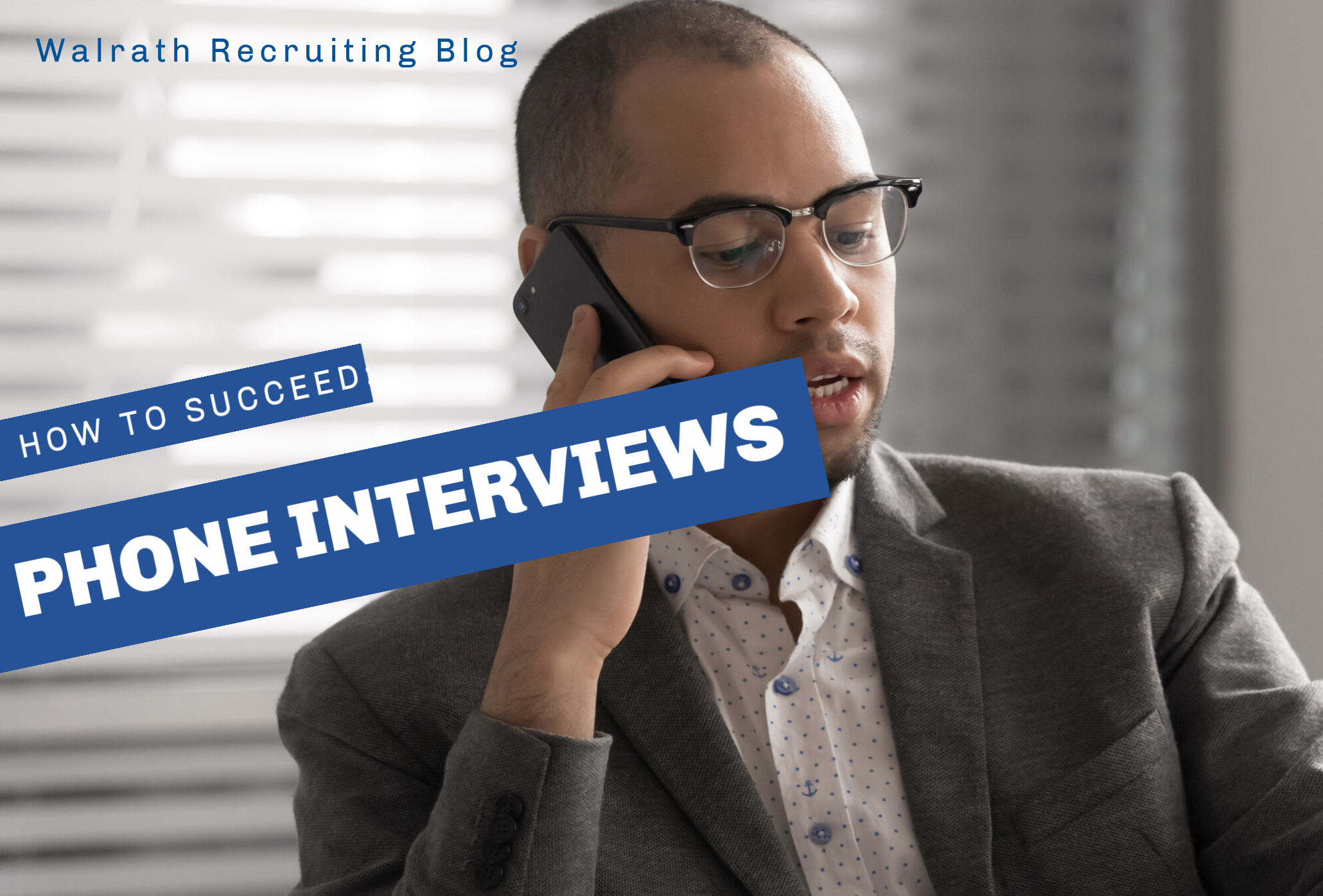 Phone Interviews are just as important as in-person ones. Find out how to nail your next phone interview!