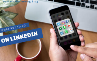 LinkedIn is a great resource, however there are some things you should steer clear of when using the site